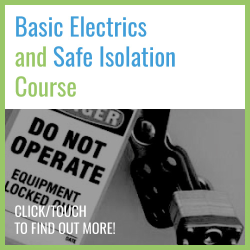 Basic Electrics and Safe Isolation Course for Maintenance Engineers Course Image